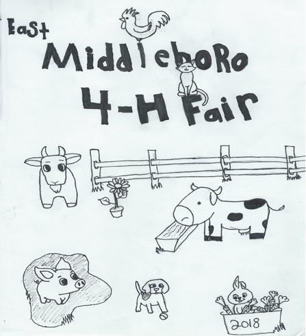 graphic about 4-h Pledge Printable named East Middleboro 4-H